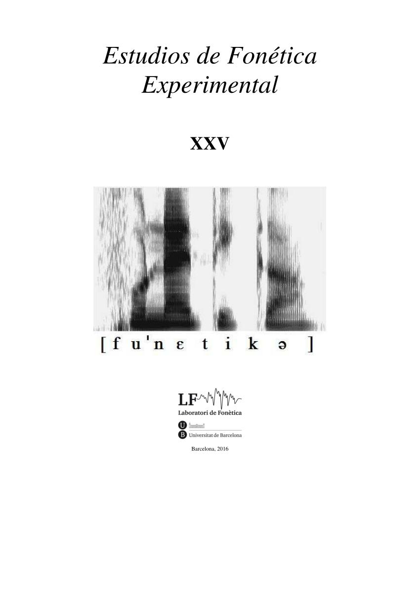 (𝗣𝗗𝗙) La percepción de /ʎ/ y /j/ en catalán y en español