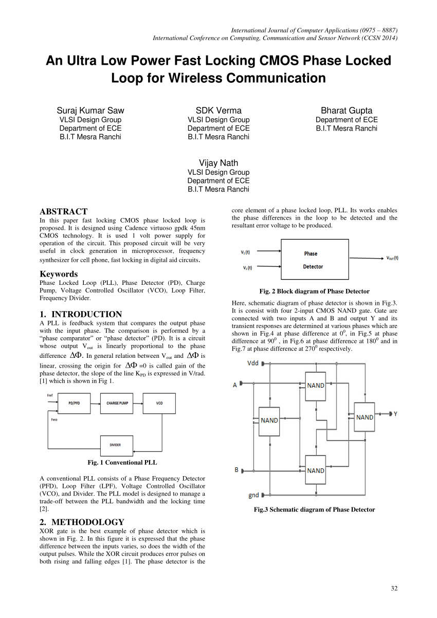 hight resolution of  pdf design of high frequency d flip flop circuit for phase detector application