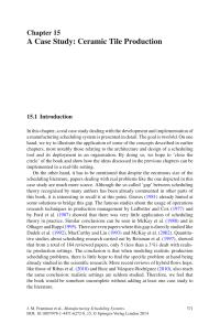 (PDF) A Case Study: Ceramic Tile Production