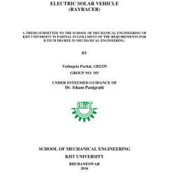 pdf electric solar vehicle rayracer [ 850 x 1100 Pixel ]