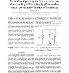 equivalent circuit of the capacitor run motor a download scientific diagram [ 850 x 1202 Pixel ]