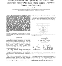pdf a capacitor start three phase induction motor [ 850 x 1100 Pixel ]