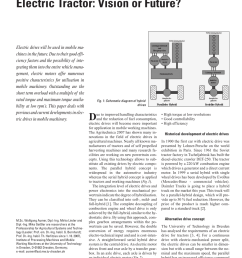 pdf high voltage electrification of tractor and agricultural machinery a review [ 850 x 1203 Pixel ]