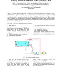 pdf modeling simulation and control of pico hydro power plant [ 850 x 1100 Pixel ]
