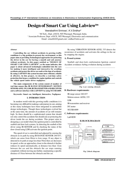 small resolution of  pdf design of smart car using labview tm