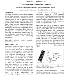 pdf design and implementation of a solar charge controller with variable output  [ 850 x 1202 Pixel ]