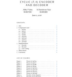 pdf cyclic 7 4 encoder and decoder hardware implementation [ 850 x 1202 Pixel ]