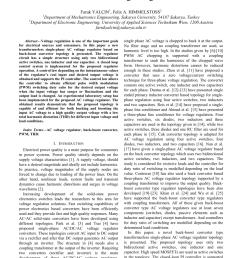 pdf a new transformerless single phase buck boost ac voltage regulator [ 850 x 1202 Pixel ]