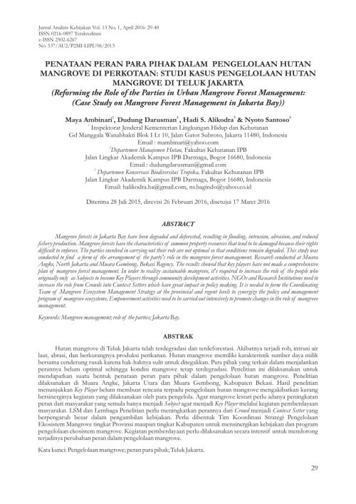 small resolution of  pdf strategi keberlanjutan pengelolaan hutan mangrove di tahura ngurah rai bali