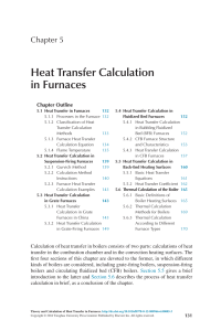 (PDF) Heat Transfer Calculation in Furnaces