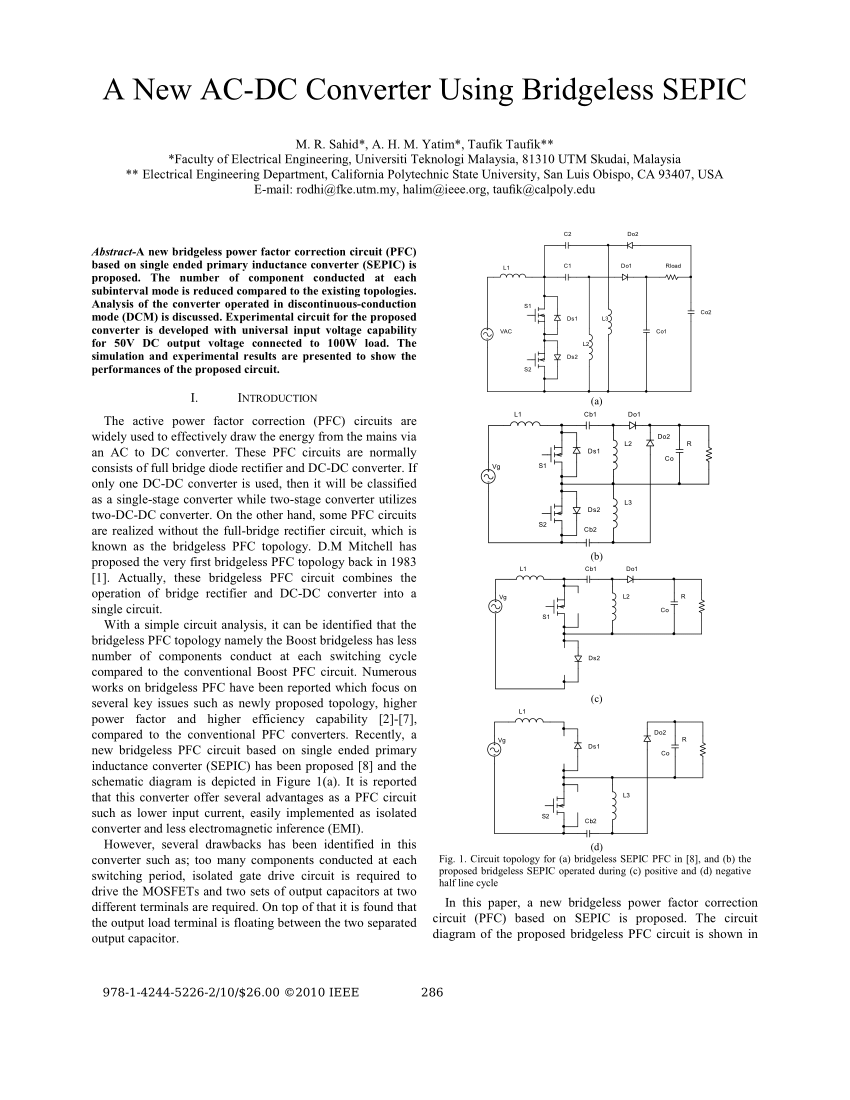 medium resolution of evaluation of power losses in different ccm mode single phase boost pfc converters via a simulation tool request pdf
