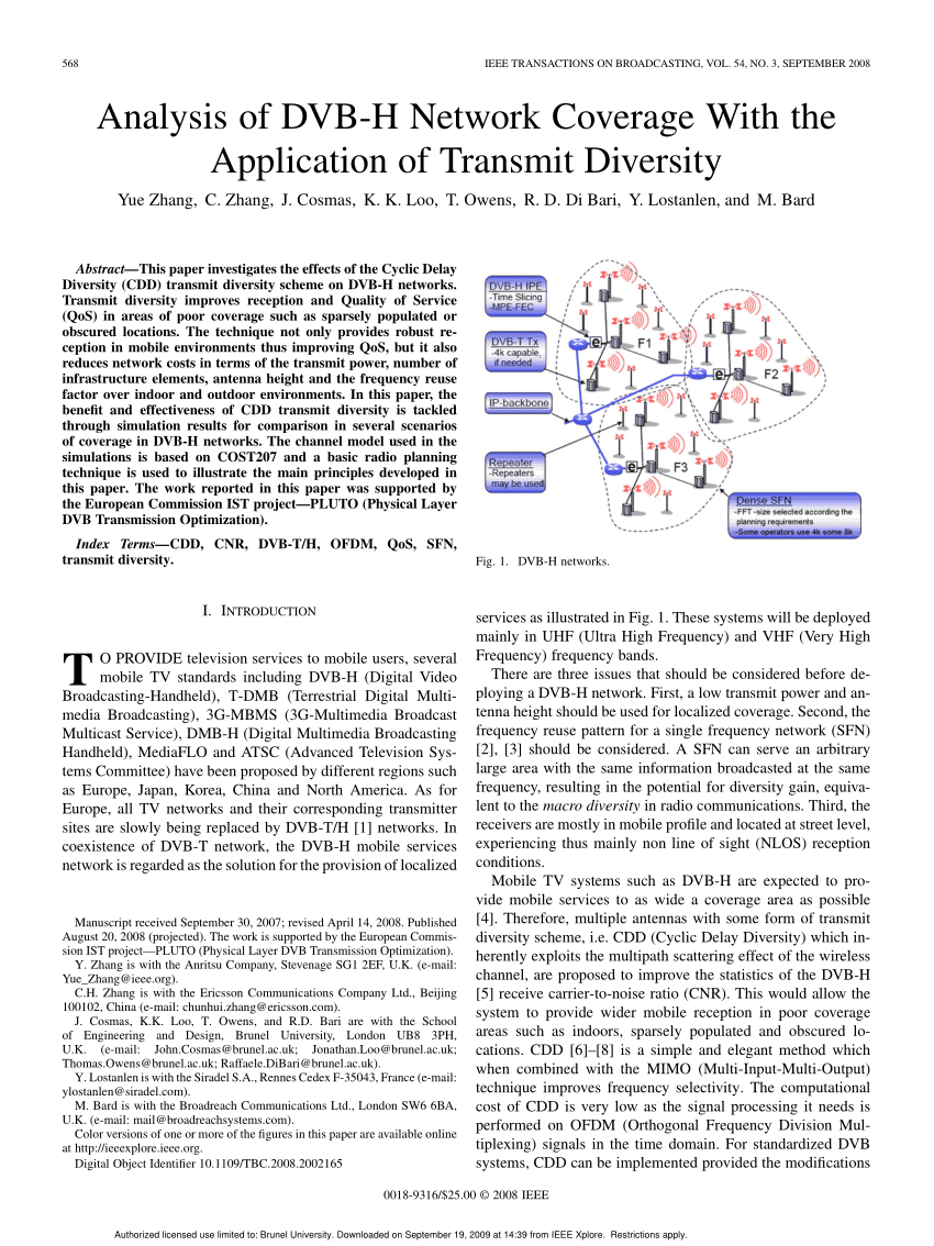 hight resolution of  pdf re multiplexing isdb t bts into dvb ts for sfn