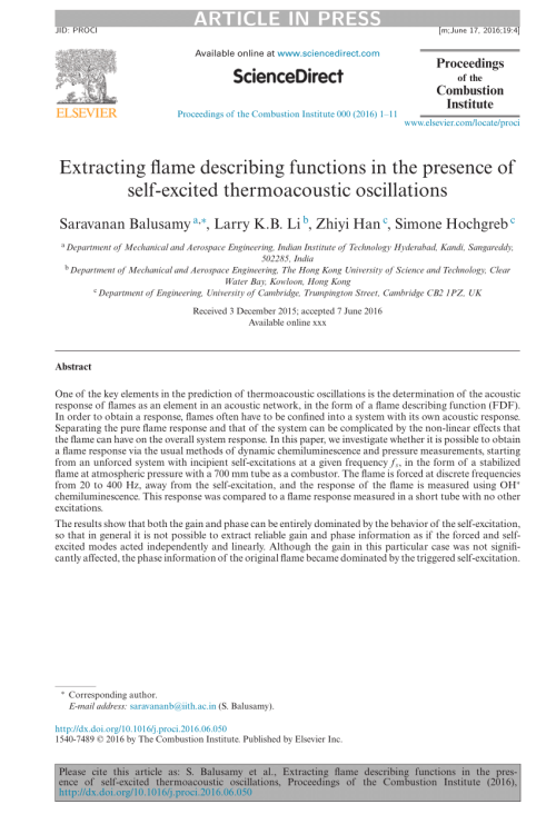 small resolution of  pdf extracting flame describing functions in the presence of self excited thermoacoustic oscillations