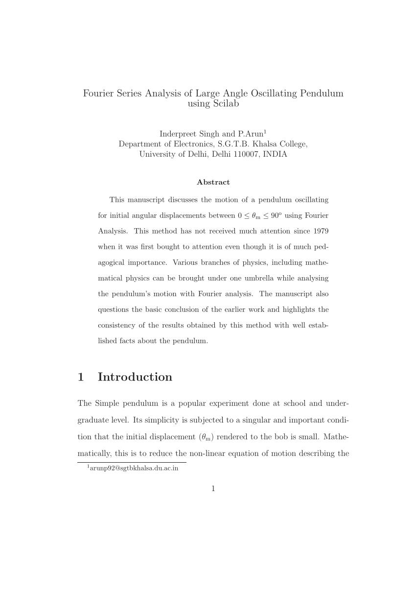 medium resolution of plot of pendulum length vs time period squared t 2 the data point download scientific diagram