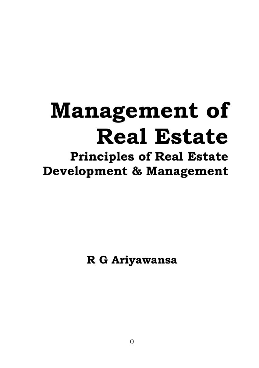 Bestseller: Real Estate Principles A Value Approach 4th