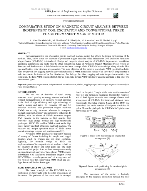 small resolution of  pdf comparative study on magnetic circuit analysis between independent coil excitation and conventional three phase permanent magnet motor