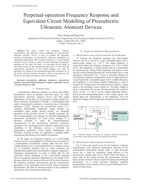 small resolution of  pdf perpetual operation frequency response and equivalent circuit modelling of piezoelectric ultrasonic atomizer devices