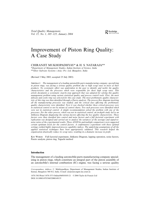 small resolution of  pdf improvement of piston ring quality a case study