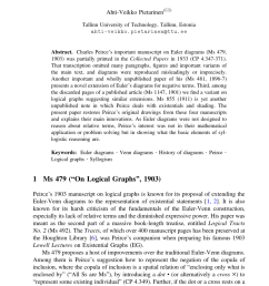 pdf extensions of euler diagrams in peirce s four manuscripts on logical graphs [ 850 x 1290 Pixel ]