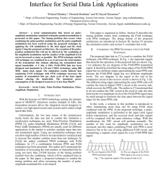 pdf pulse position and pulse amplitude modulation interface for serial data link applications [ 850 x 1100 Pixel ]