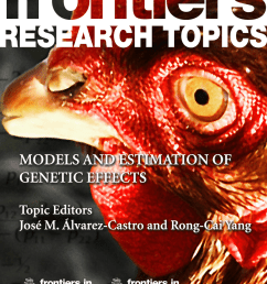 pdf models and estimation of genetic effects [ 850 x 1113 Pixel ]