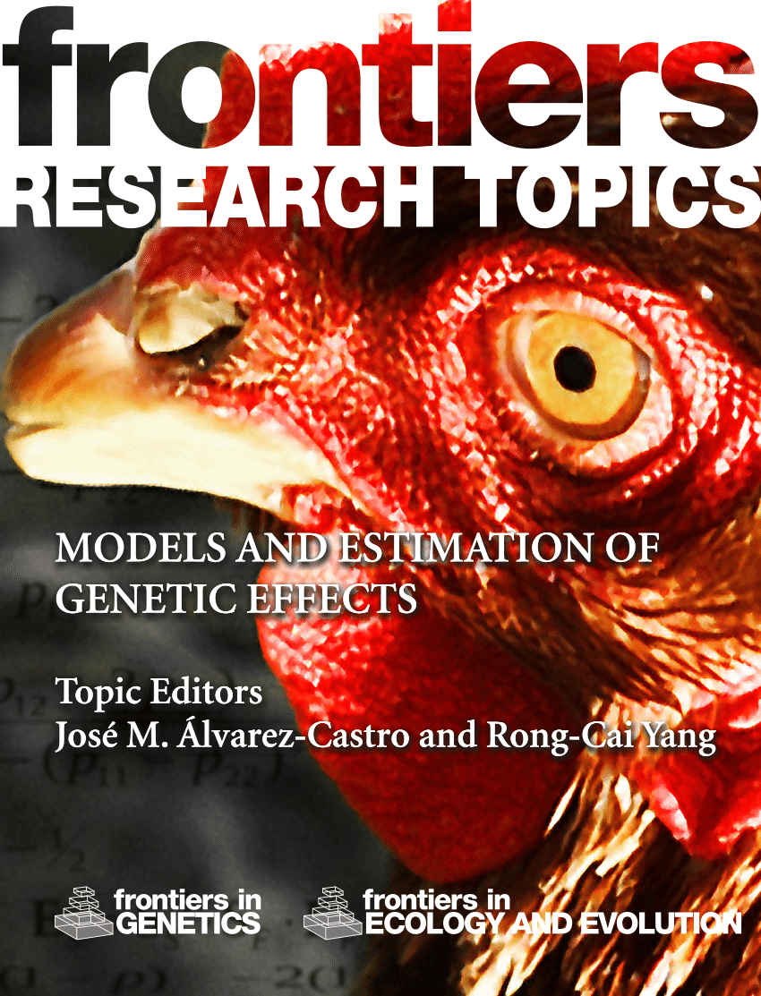 medium resolution of  pdf models and estimation of genetic effects