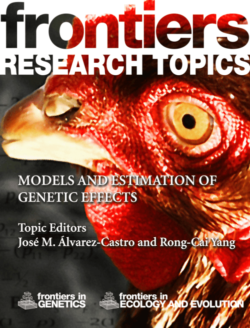 small resolution of  pdf models and estimation of genetic effects