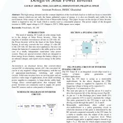 Wiring Diagram Off Grid Solar System Monocot Seed Pdf Design Of Power Inverter