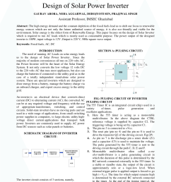 pdf design of solar power inverter [ 850 x 1202 Pixel ]