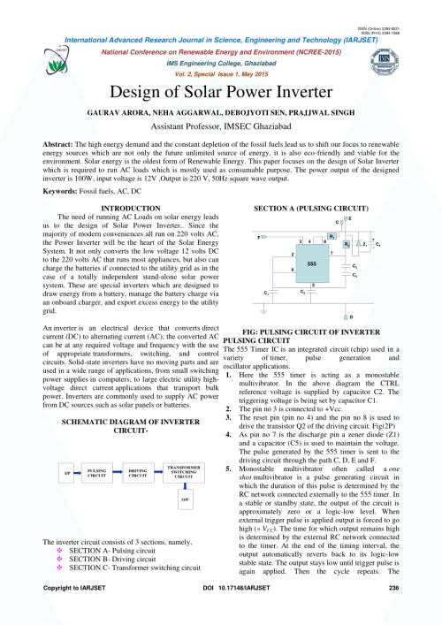 small resolution of  pdf design of solar power inverter
