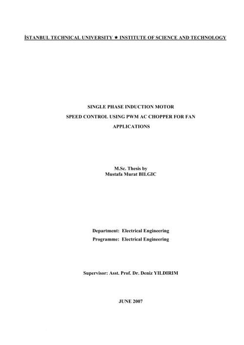 small resolution of  pdf single phase induction motor speed control using pwm ac chopper for fan applications full text thesis