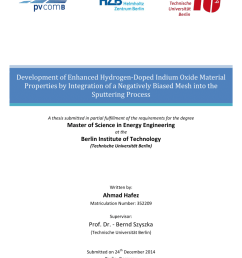 pdf development of enhanced hydrogen doped indium oxide material properties by integration of a negatively biased mesh into the sputtering process [ 850 x 1202 Pixel ]
