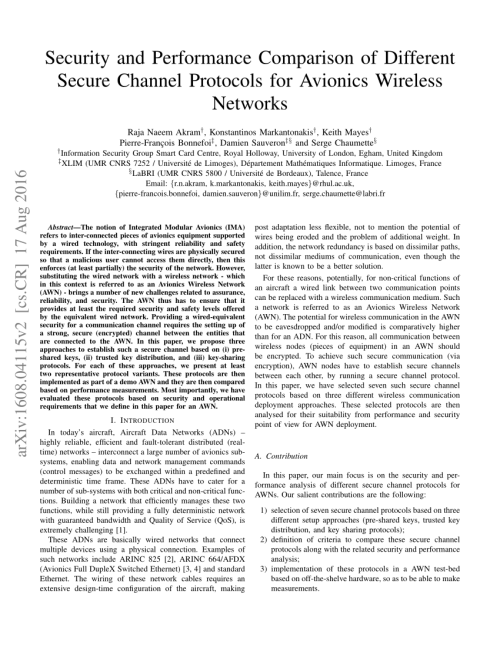 small resolution of  pdf the evolution of aircraft data networks