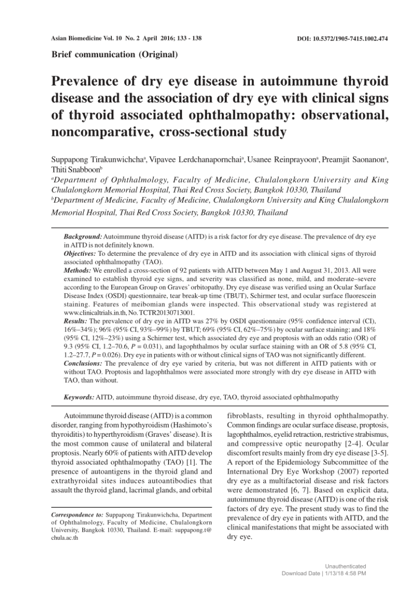 Does Hyperthyroidism Cause Dry Eyes | Wall DDW