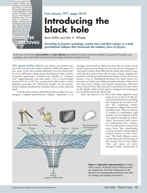 small resolution of  pdf introducing the black hole