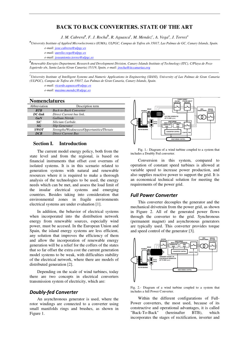 medium resolution of modeling and control of an integrated wind power generation and energy storage system request pdf