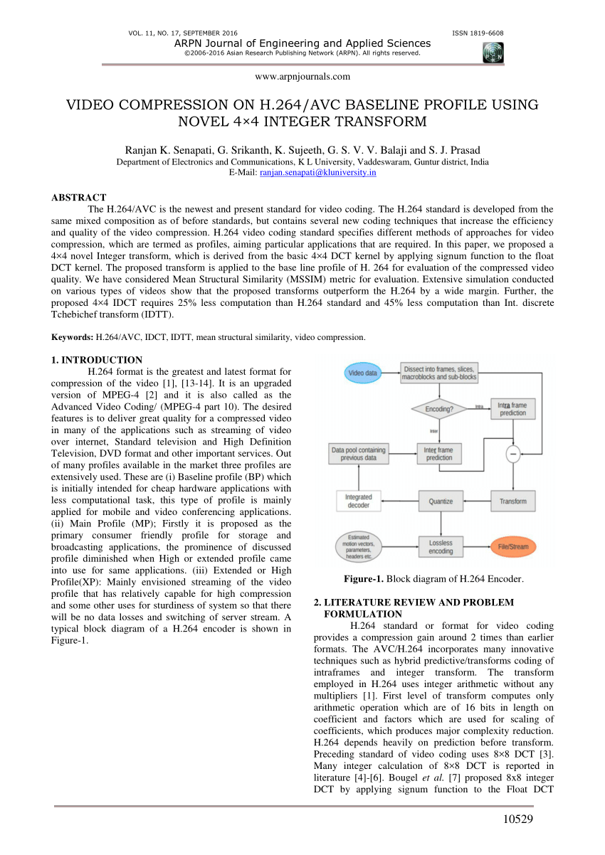 medium resolution of h 264 block diagram