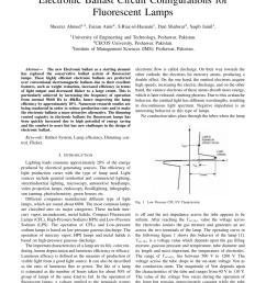 pdf electronic ballast circuit configurations for fluorescent lamps pdf electronic ballast wiring diagram [ 850 x 1100 Pixel ]