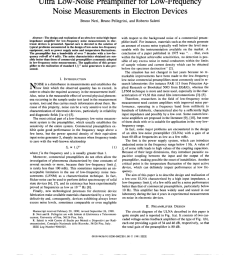pdf ultra low noise preamplifier for low frequency noise measurements in electron devices [ 850 x 1099 Pixel ]