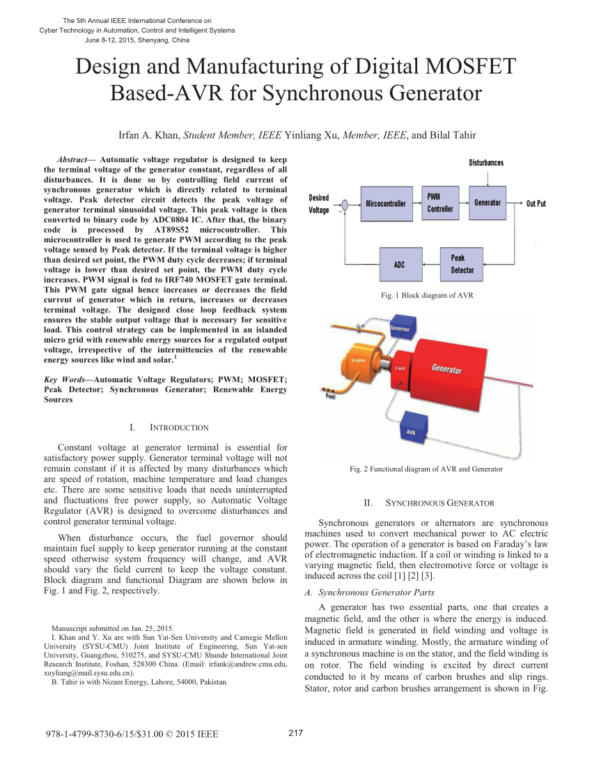 medium resolution of  pdf design and manufacturing of digital mosfet based avr for synchronous generator