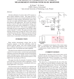 pdf a precise pulsed current source for absolute calibration of current measurement systems with no dc response [ 850 x 1132 Pixel ]