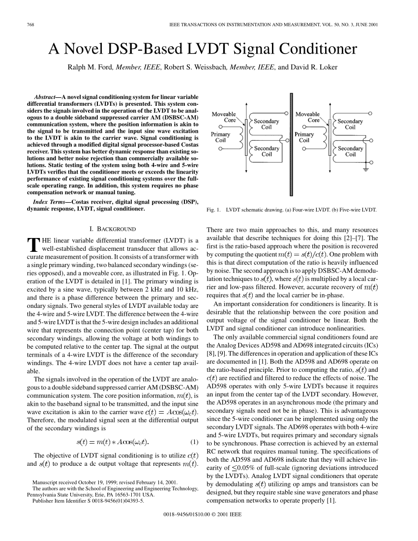 medium resolution of  pdf a novel dsp based lvdt signal conditioner