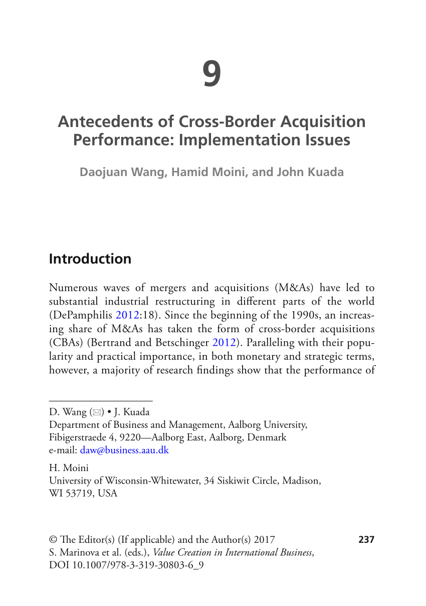 medium resolution of  pdf using acquisitions to access multinational diversity thinking beyond the domestic versus cross border m a comparison
