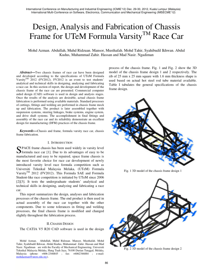 Automobile Chassis And Frame Pdf | Frameviewjdi.org