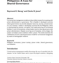 pdf understanding prison management in the philippines a case for shared governance [ 850 x 1314 Pixel ]