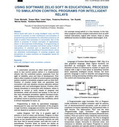 pdf using software zelio soft in educational process to simulation control programs for intelligent [ 850 x 1202 Pixel ]