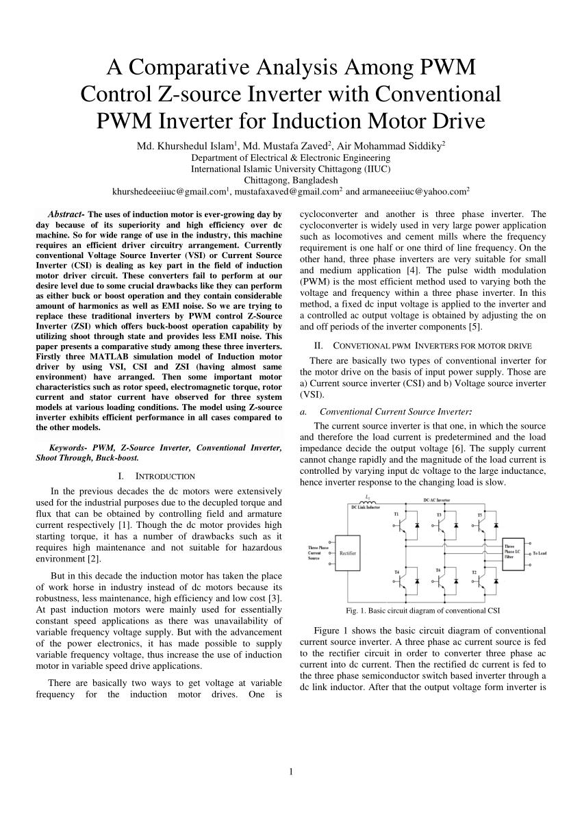 medium resolution of the circuit model of the z source inverter download scientific diagram