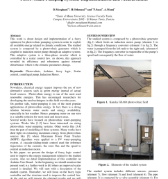 pdf analytical method of sizing photovoltaic water pumping system [ 850 x 1202 Pixel ]