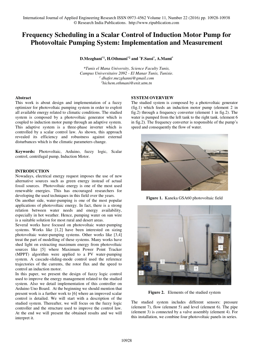 hight resolution of  pdf analytical method of sizing photovoltaic water pumping system