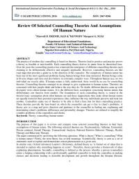 counseling theory chart - Hunt.hankk.co